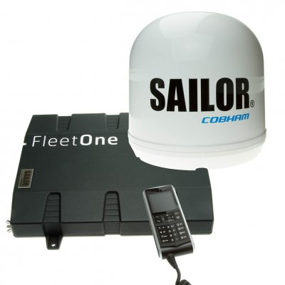 SAILOR Fleet One mit Handset (kabelgebunden)